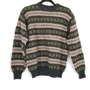 United Colors of Benetton Wool Ferile Print Sweate